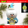 LED Light/WordpadとのポリマーClay Christmas Decorations Ornament