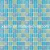 De lichtblauwe Tegels van het Mozaïek van het Glas van het Kristal voor het Zwembad van Kinderen