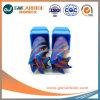 1.5X4X50HRC45-65固体4フルートの平らな炭化物の端製造所