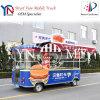 Caminhão móvel bem usado do alimento da cozinha de China