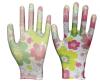 Madame estampée par fleur Garden Gloves Fordigging et plantation de nitriles