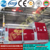 4 de la plaque du rouleau de plieuse W12-6X2000 tôle Rolling machine CNC