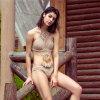Crochet bonneterie Bikini Tassel Bohemian plage Mince Mince Split maillot de bain