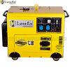 Générateur diesel silencieux superbe portatif monophasé 5kw avec des roues