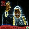 Luz del adorno del retrato de la iluminación del LED para la decoración del día de Medio Oriente Nationdal