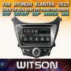 De Vensters van Witson zenden StereoSpeler DVD voor Hyundai Elantra Avante 2013 via de radio uit
