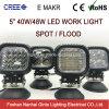 Offroad를 위한 5inch 반점 또는 플러드 40W/48W LED 작동 빛 (GT1013B-40W/48W)