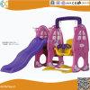 Rose Kids Indoor de lapin en plastique et faites glisser de pivotement