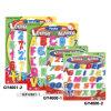 Magneet van de Koelkast van Whiteboard van de Kinderen van de magneet de Letters&Numbers Gekleurde