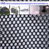 Doppelte Augen-Polyester-Ineinander greifen-Gewebe-starkes mittleres Stärken-Netzstoff-Gepäck-Beutel-Futter-Material 100%