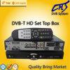 Caixa superior ajustada da televisão por cabo de DVB-T STB (HT202T)