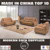 Schnittspitzenkorn-Leder-Sofa (Lz203)