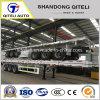 1/2/3/4 Fuwa essieux BPW 20ft 40FT Conteneur 45pieds/UTILITY/cargo scanner à plat/plate-forme extensible lit plat tracteur semi-remorque de camion