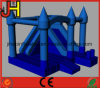 Resbalar a gorila inflable del puente del Moonwalk del castillo de la casa de la despedida