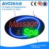Muestra electrónica oval de Hidly Massage&SPA LED
