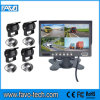 7 '' monitor del patio de Digitaces HD con la cámara del coche del CCD de 4PCS Sony y el cable de 4PCS los 20m