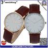 OEM imperméable à l'eau de la mode Yxl-566 2016 de cuir de montre-bracelet neuve de Mens