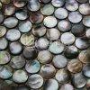 Горячая мать раковины Mop губы желтого цвета сбывания плитки мозаики камня перлы для стены украшения
