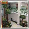 Ventilador prensada artificial todos os tipos de folhas de palmeira Árvores de plástico