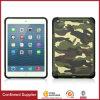 Housse de coussin hybride dur décorée en cuir camouflage pour iPad Mini