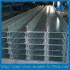 Purlins galvanizados da seção do frame de aço C para a sustentação de telhadura
