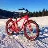 Strand-fetter Gummireifen-elektrisches Fahrrad-Fahrrad des Schnee-500W für Männer