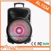 Altavoz plástico barato de la carretilla de Bluetooth con la luz de destello colorida