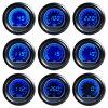 Давление масла Gauge Meters универсалии 2.5  60mm Digital Blue LCD Bar Racing Engine