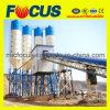 Tipo planta de tratamento por lotes concreta do transporte de correia de Hzs90 para a construção
