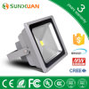 Meanwell Driver CRI 80를 가진 Sunlamps Waterproof 50W Industrial LED Flood Lights 4500lm