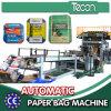 Cemento de alta velocidad de la máquina de sellado de bolsas de papel Bottome