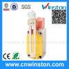 Commutateur de limite imperméable à l'eau micro électrique rotatoire de rouleau réglable avec du CE