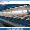2000t Magnesium Extrusion Profile Tables dans Aluminum Extrusion Machine