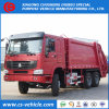 L'accumulazione residua appiattita di HOWO 6X4 16m3 16cbm trasporta il camion su autocarro di pulizia dell'immondizia da vendere