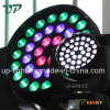 36*10W RGBW 4in1 기운 LED 이동하는 맨 위 급상승