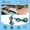 Câble chauffant électrique vert pour le Seeding chauffant en hiver
