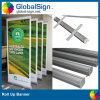 Retraité promotionnelle Pull up Rolling Banner Display Stand