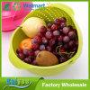 Panier de grille à grain de riz de lavage de cuisine Flip panier de fruits en plastique de vidange