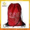 Backpack мешка Drawstring красного полиэфира 210d Nylon