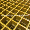 El FRP rejilla moldeada de fibra de vidrio para las plataformas de productos químicos