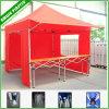 Branco azul vermelho 10 X 10 Canopy Tent with Sides