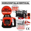 Self-Leveling Querzeile automatische rote Drehlaser-Stufe
