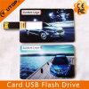 Movimentação do flash do USB do cartão dos presentes da exposição do automóvel do carro (YT-3101)