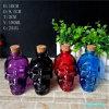 frascos de vidro pulverizados 6oz 180ml do crânio