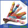 Kundenspezifischer GewebeWristband mit Cmyk Farben-Firmenzeichen für Konzert