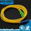 LC к оптическому волокну Patchcord E2000 APC двухшпиндельному Sm