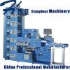 Máquina automática de impresión de etiquetas con secado UV