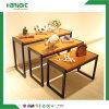나무로 되는 옷가게 3 Nestable 선전용 테이블