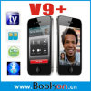 Telefoon van TV SIM van de Band van de vierling de Dubbele Dubbele Reserve4G (V9+)
