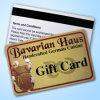 Выдвиженческая карточка подарка PVC